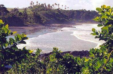 Der Strand von Soka